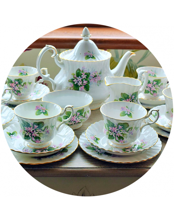 (OUT OF STOCK) ROYAL ALBERT MAYFLOWER