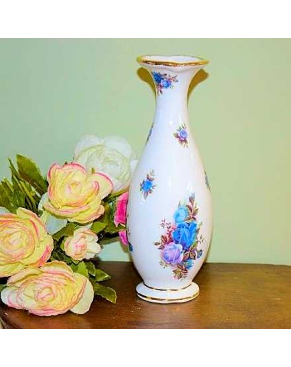 (OUT OF STOCK) ROYAL ALBERT MOONLIGHT ROSE BUD VAS...