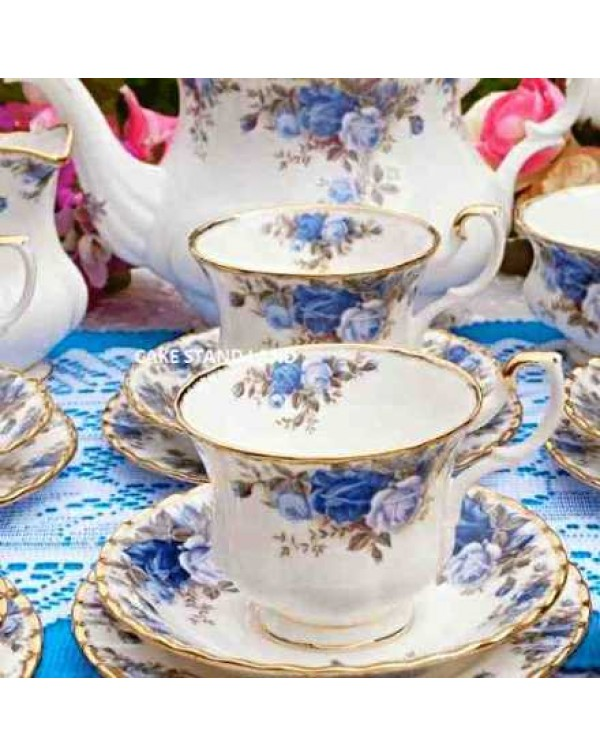 (OUT OF STOCK) ROYAL ALBERT MOONLIGHT ROSE TEA TRI...