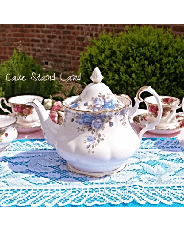 (OUT OF STOCK) ROYAL ALBERT MOONLIGHT ROSE TEAPOT