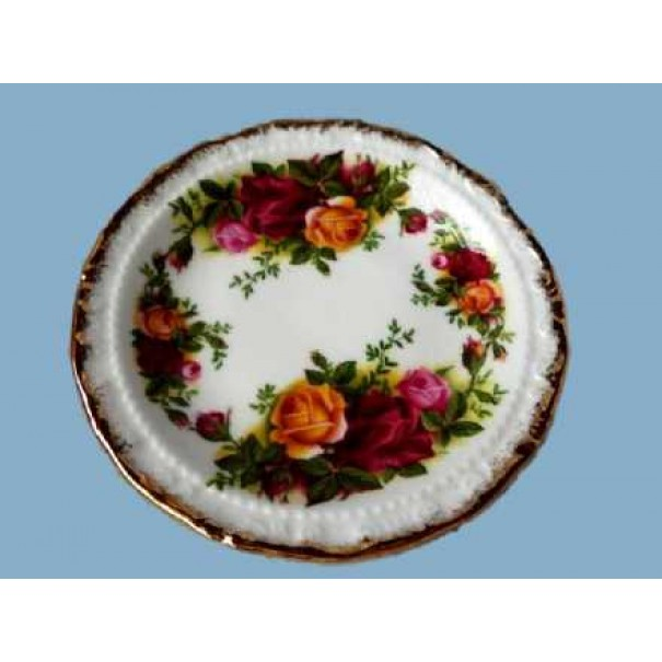 OLD COUNTRY ROSE PIN DISH