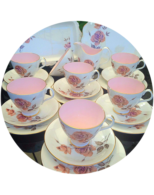 (OUT OF STOCK) ROYAL ALBERT PRELUDE VINTAGE TEA SE...