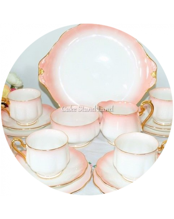 (OUT OF STOCK) ROYAL ALBERT RAINBOW PINK VINTAGE T...