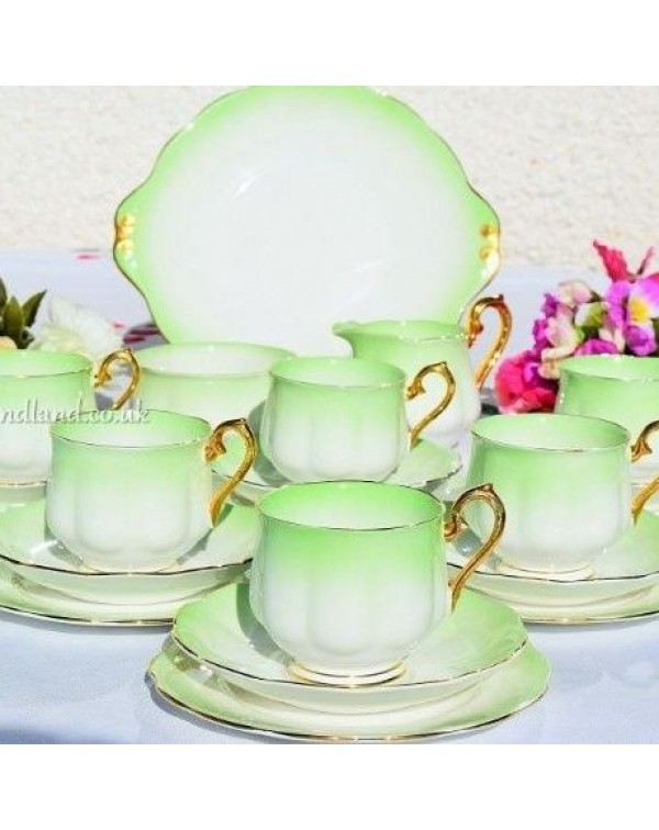 (OUT OF STOCK) ROYAL ALBERT RAINBOW TEA SET