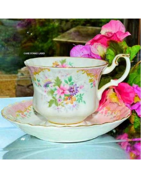 (OUT OF STOCK) ROYAL ALBERT SERENITY TEA CUP & SAUCER