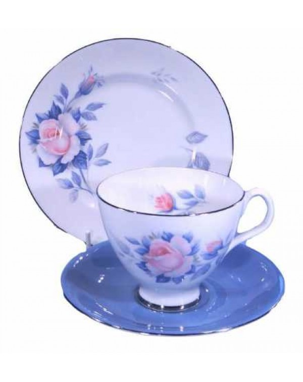 (OUT OF STOCK) ROYAL ALBERT SORRENTO TEA TRIO
