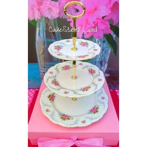 ROYAL ALBERT TRANQUILITY CAKE STAND