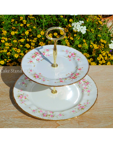 (OUT OF STOCK) ROYAL ALBERT VICTORIANA CAKE STAND