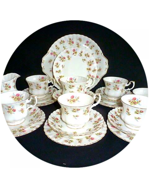 (OUT OF STOCK) ROYAL ALBERT WINSOM TEA SET