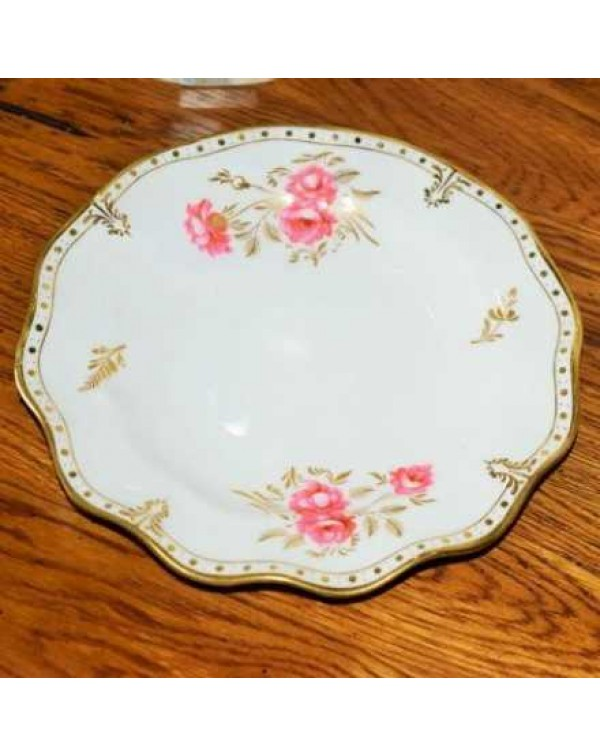 (OUT OF STOCK) ROYAL CROWN DERBY PINXTON ROSE PLAT...