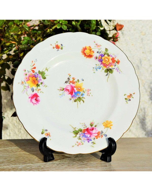 ROYAL CROWN DERBY POSIES SALAD PLATE