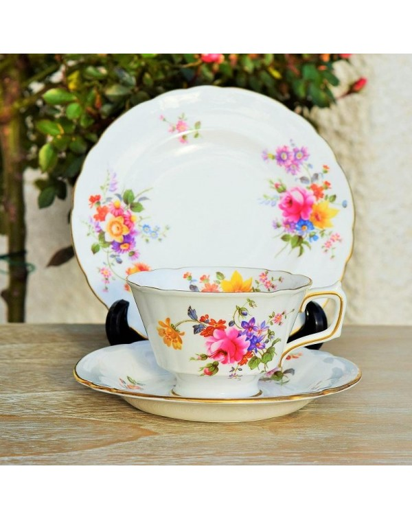 (OUT OF STOCK) ROYAL CROWN DERBY POSIES TRIO