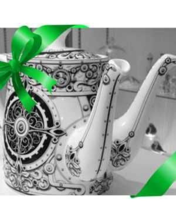 (OUT OF STOCK) ROYAL CROWN DERBY STEAMPUNK TEAPOT