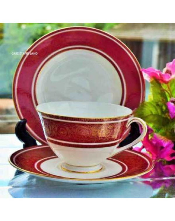 (OUT OF STOCK) ROYAL DOULTON BUCKINGHAM TEA TRIO