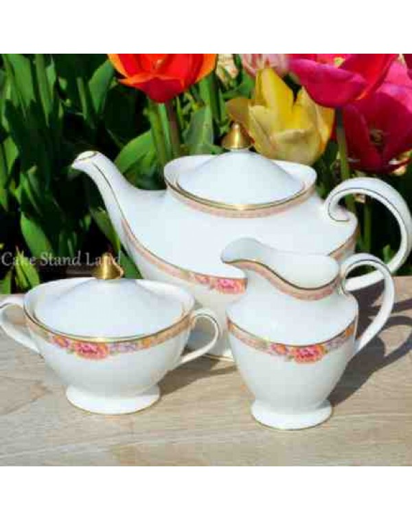 (OUT OF STOCK) ROYAL DOULTON DARJEELING TEAPOT SET