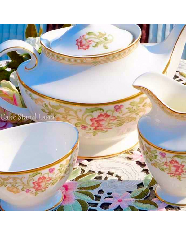 (OUT OF STOCK) ROYAL DOULTON LICHFIELD TEAPOT SET