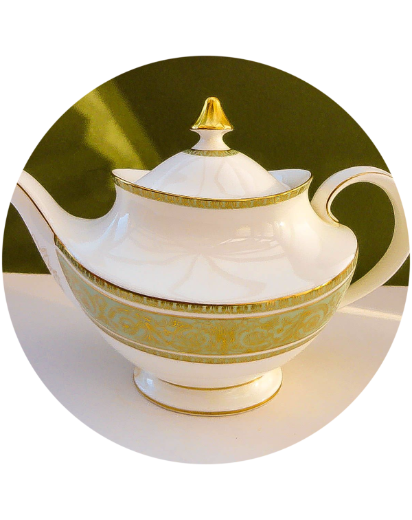 (OUT OF STOCK) ROYAL DOULTON RENAISSANCE  TEAPOT V...