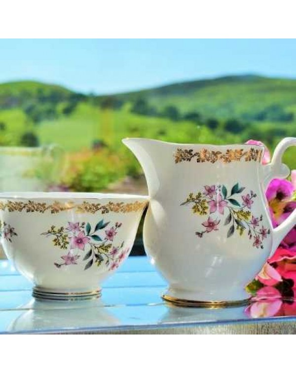ROYAL GRAFTON MILK JUG AND SUGAR BOWL