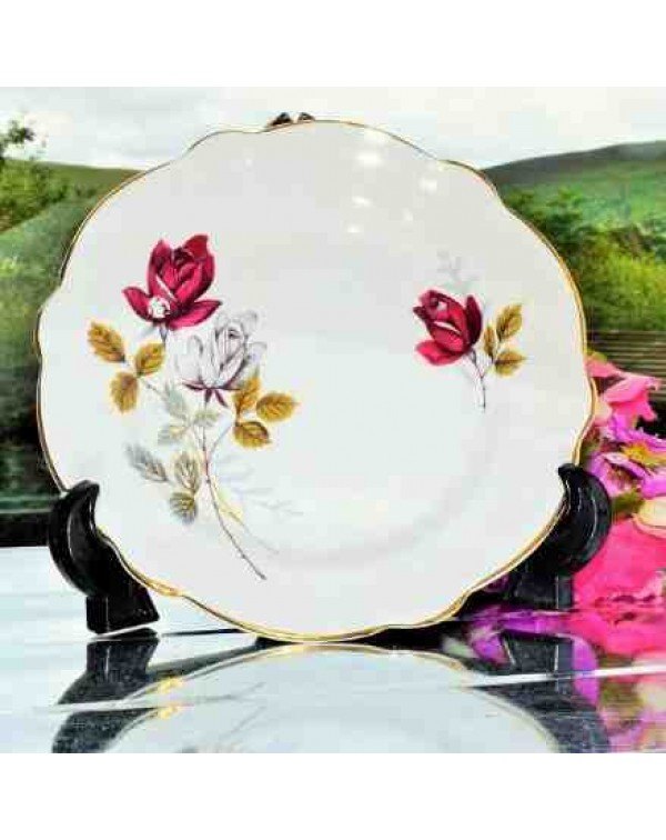 (OUT OF STOCK) ROYAL IMPERIAL ROSE TEA PLATE
