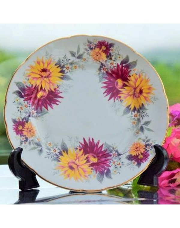ROYAL STAFFORD CHRYSANTHEMUM TEA PLATE