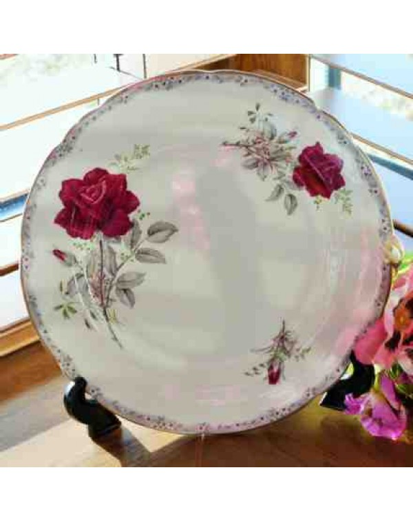 ROYAL STAFFORD ROSES TO REMEMBER TEA PLATE