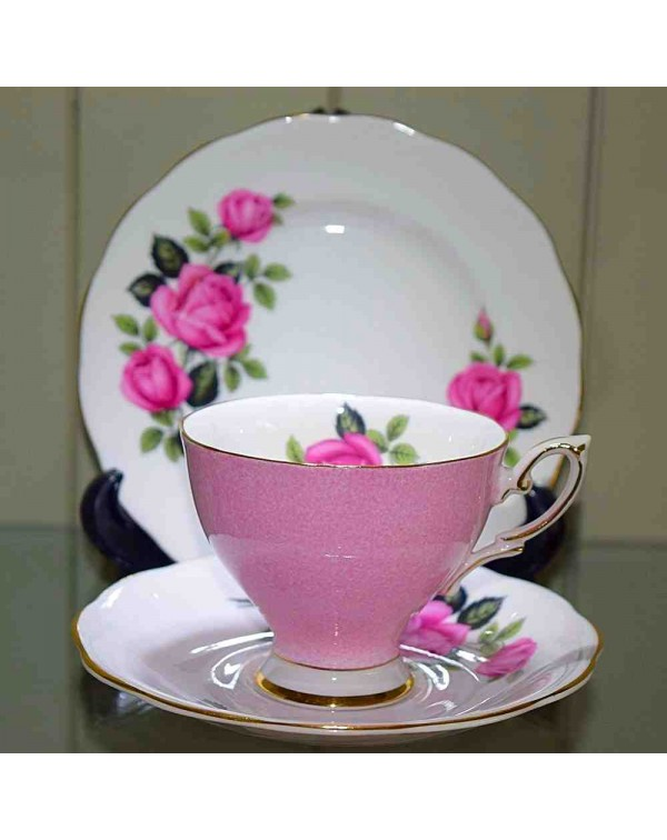 (OUT OF STOCK) ROYAL STANDARD PINK TEA TRIO