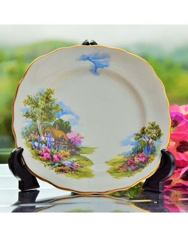 ROYAL VALE COTTAGE GARDEN TEA PLATE