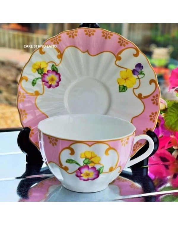 (OUT OF STOCK) ROYAL WORCESTER PETAL CUP & SAU...