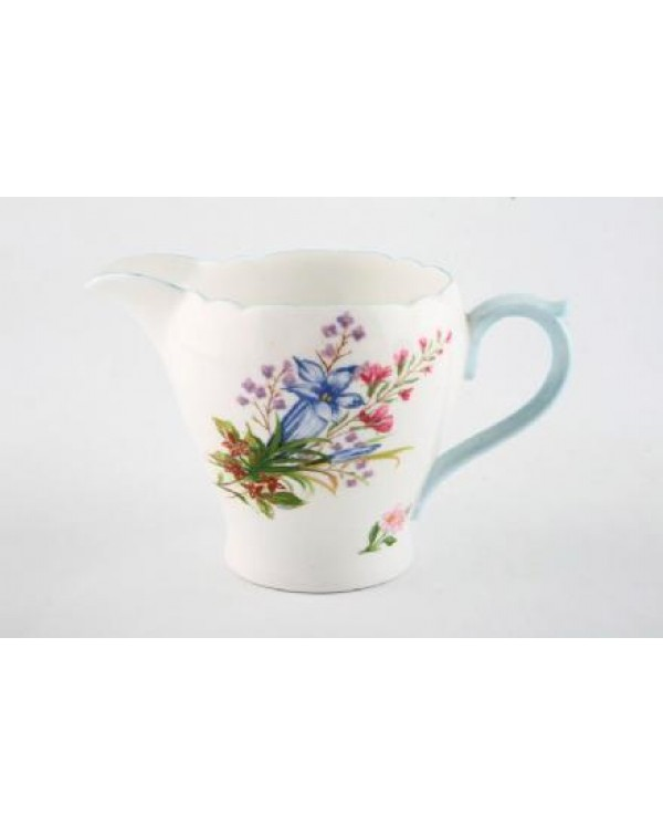 SHELLEY WILD FLOWERS MILK JUG