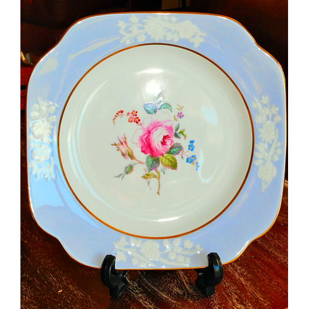 (OUT OF STOCK) SPODE MARITIME ROSE CAKE PLATE