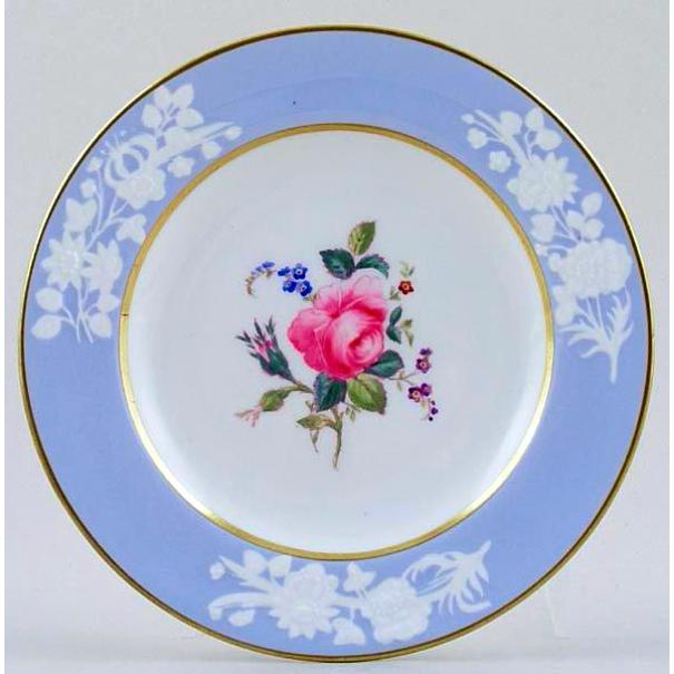 (SOLD) SPODE MARITIME ROSE TEA PLATE