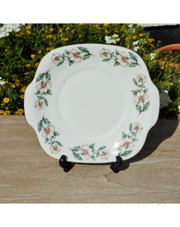 STAFFORDSHIRE CAKE PLATE