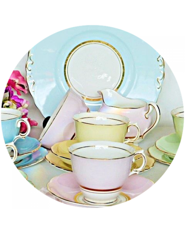 (OUT OF STOCK) COLCLOUGH PASTEL COLOURS HARLEQUIN ...