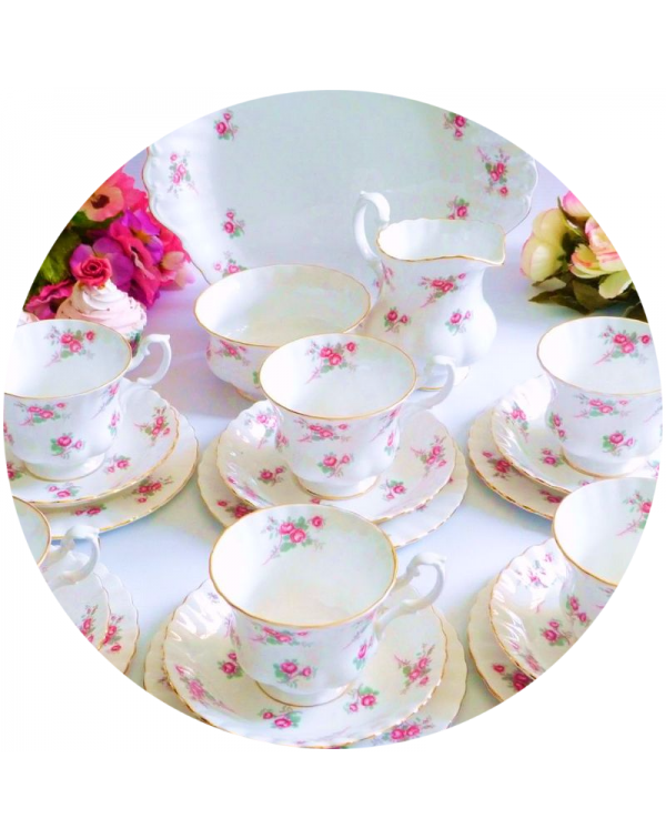 (OUT OF STOCK) RICHMOND VINTAGE TEA SET FOR SIX RO...