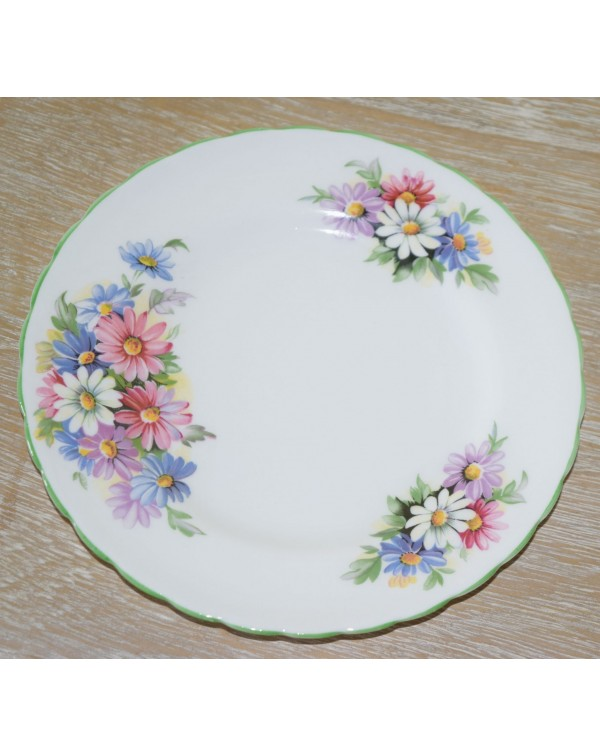 (OUT OF STOCK) TUSCAN FLORAL TEA PLATE
