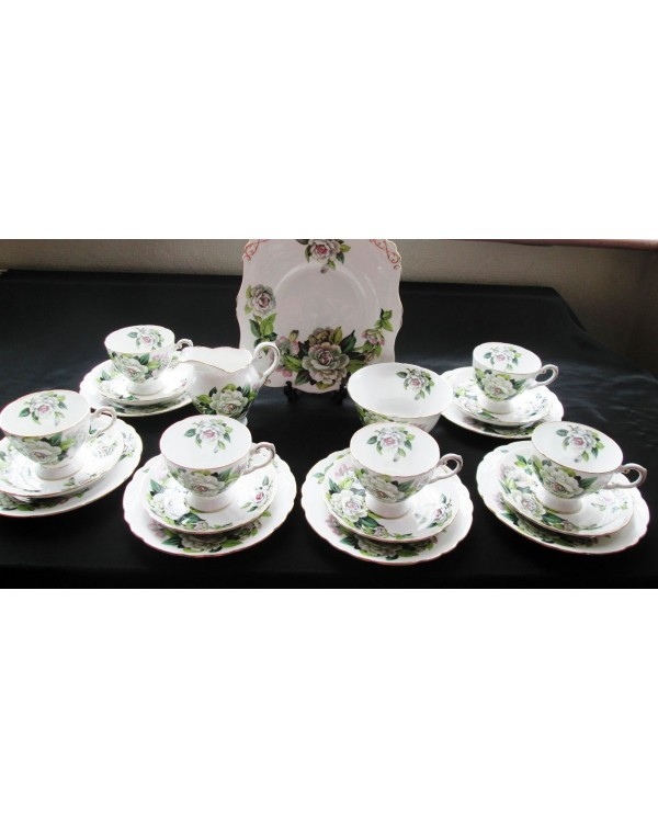 (OUT OF STOCK) TUSCAN VINTAGE CHINA TEA SET  GARDE...
