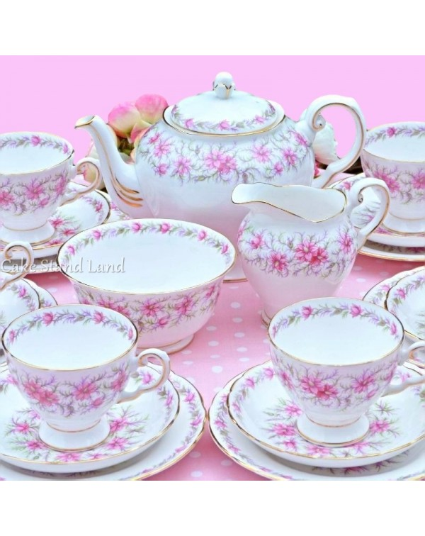 (OUT OF STOCK) TUSCAN VINTAGE TEA SET LOVE IN A MI...