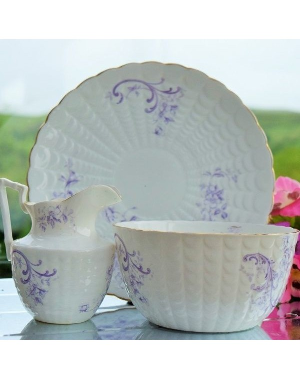 (OUT OF STOCK) VICTORIAN CAKE PLATE SET