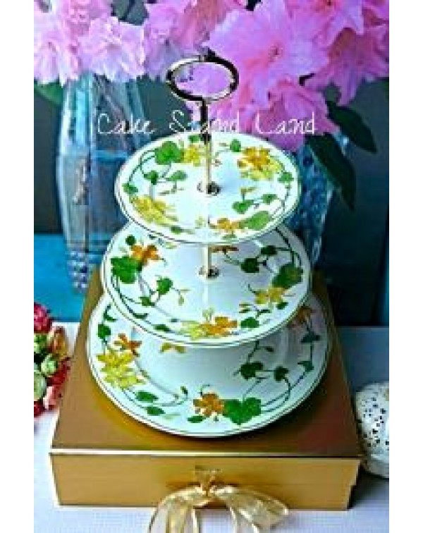 (OUT OF STOCK) VILLEROY & BOCH GERANIUM CAKE S...