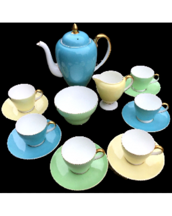 (OUT OF STOCK) WEDGWOOD APRIL COFFEE SET