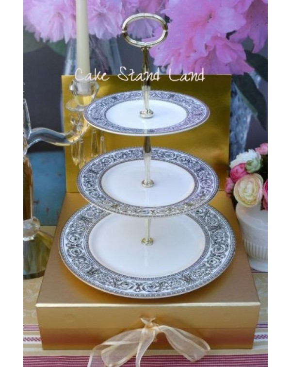 (OUT OF STOCK) ROYAL DOULTON BARONET CAKE STAND