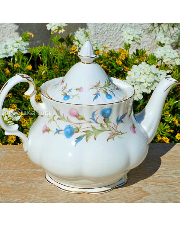 (OUT OF STOCK) ROYAL ALBERT BRIGADOON TEAPOT