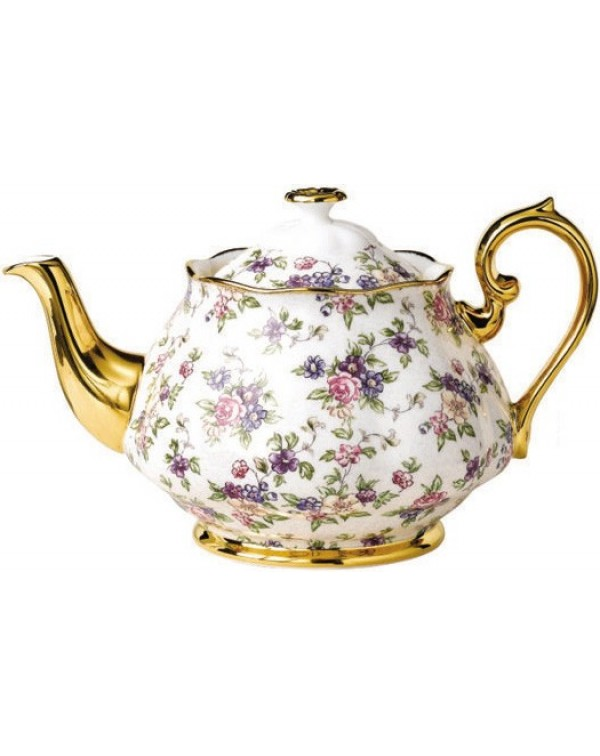 (OUT OF STOCK) TEAPOT ROYAL ALBERT CHINTZ