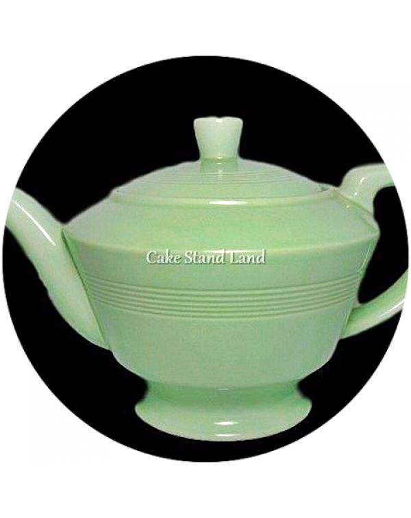 (OUT OF STOCK) WOODS WARE BERYL GREEN LARGE TEAPOT