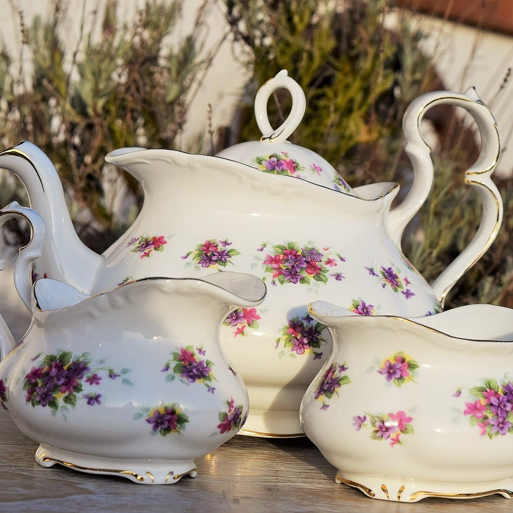 Royal Albert Violetta Tea Set